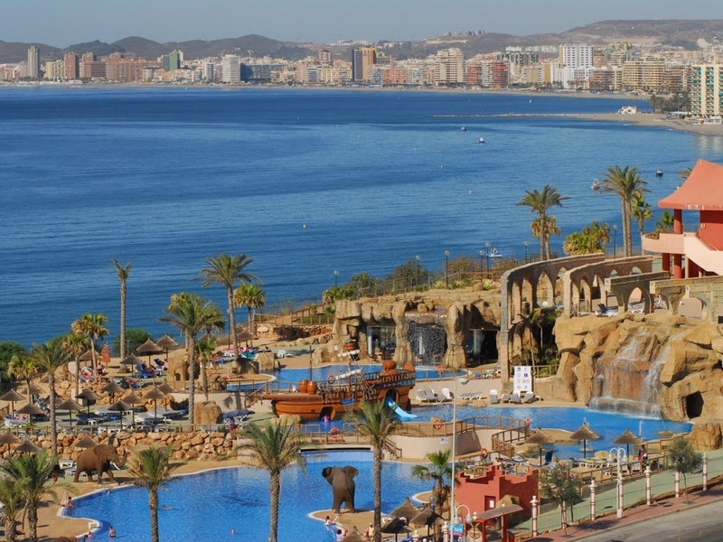 Holiday Palace Hotel, Costa del Sol, Spain