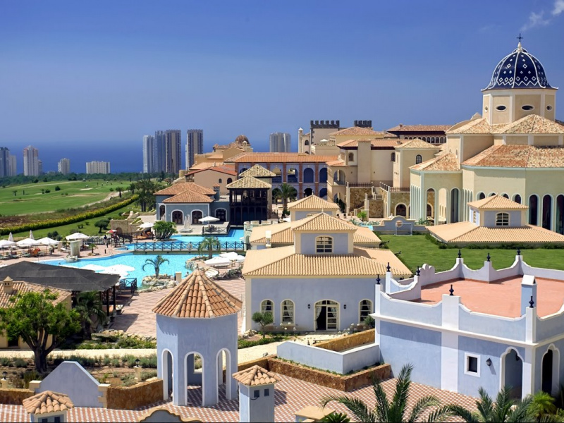 Melia Villaitana Golf Resort, Costa Blanca, Spain