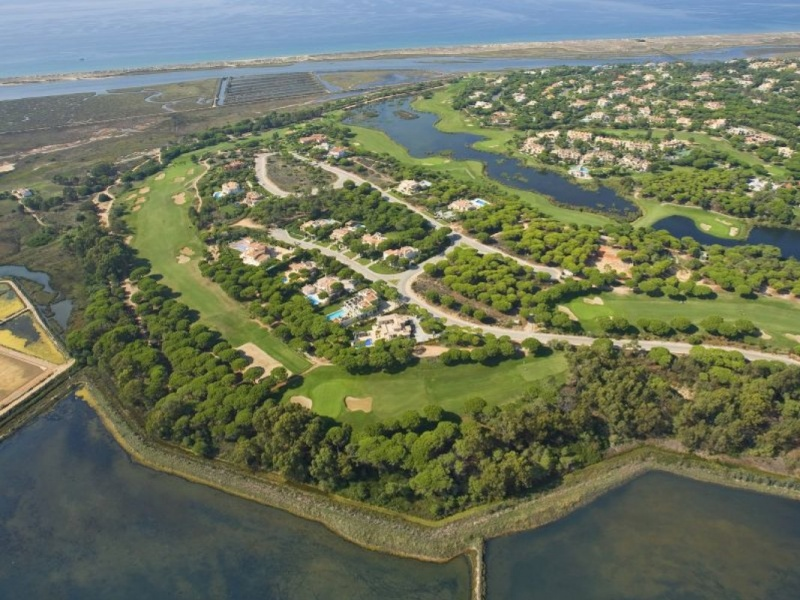 San Lorenzo Golf Course Ariel View