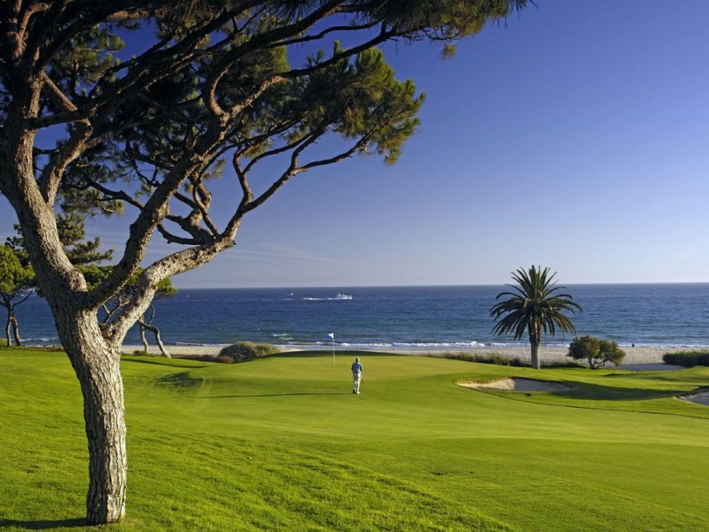 Vale do Lobo Golf Resort, Algarve, Portugal